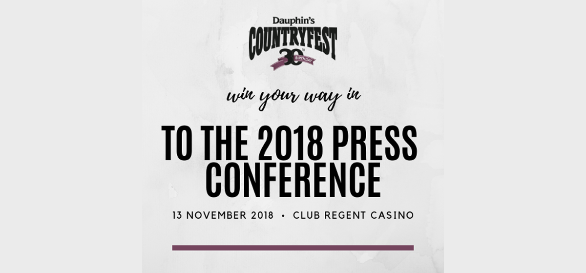 Countryfest Press Conference