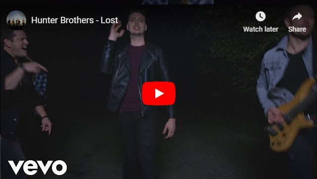 "New 2Uat2:02 Will you add the Hunter Brothers' ""Lost"" to your playlist?! (WATCH! NEW VIDEO DEBUT!)"