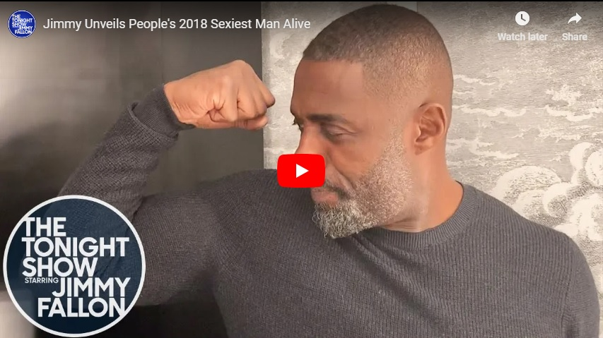 The big reveal...Jimmy Fallon introduces People's Sexiest Man Alive for 2018 via video link... (watch!)