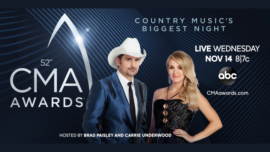 The CMA Awards are TONIGHT! Here's my predictions