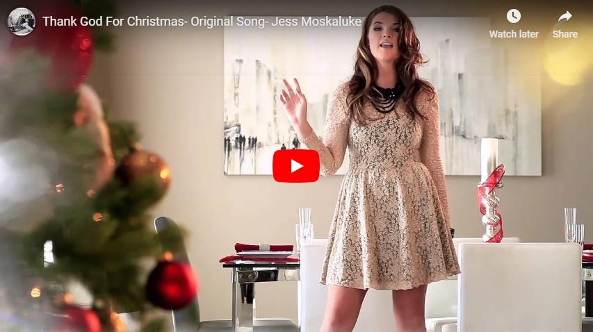 "New 2Uat 2:02 Dec. 3, 2018:  Original Jess Moskaluke Christmas tune, ""Thank God For Christmas""..."