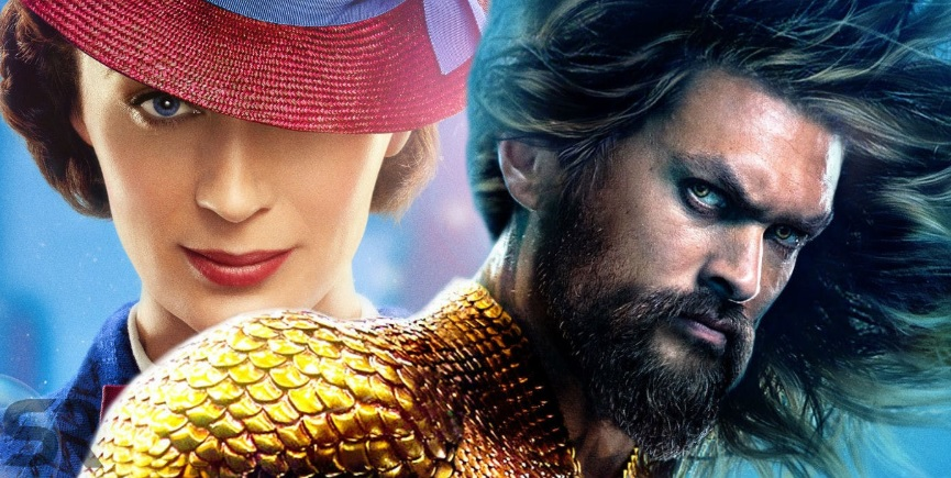 Aquaman THE bomb or just 'a' bomb for you? Biggest movies opening over the holidays...