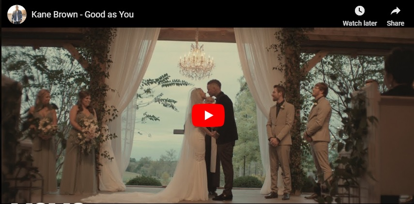 """New 2U at 2:02 Jan 8 2019: Will you add Kane Brown """"Good As You"""" to your personal playlist?..."""