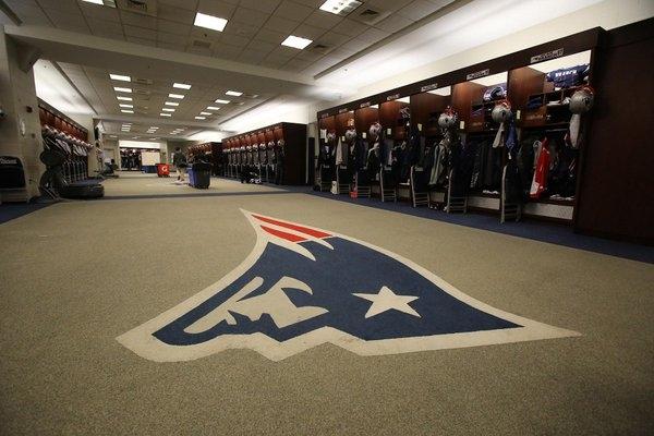 Pats locker room a crime scene