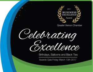 Vernon Chamber Business Excellence Award Finalists