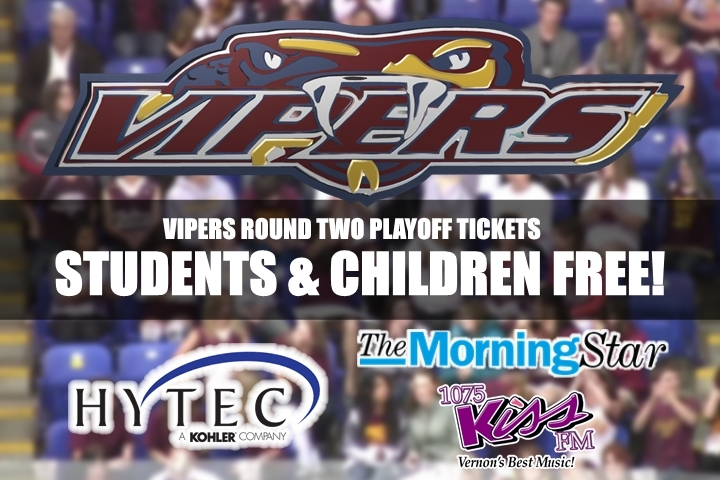 Vipers Playoff Tickets Go On Sale