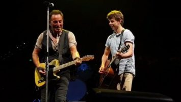 """Jammin' with """"The Boss""""!"""