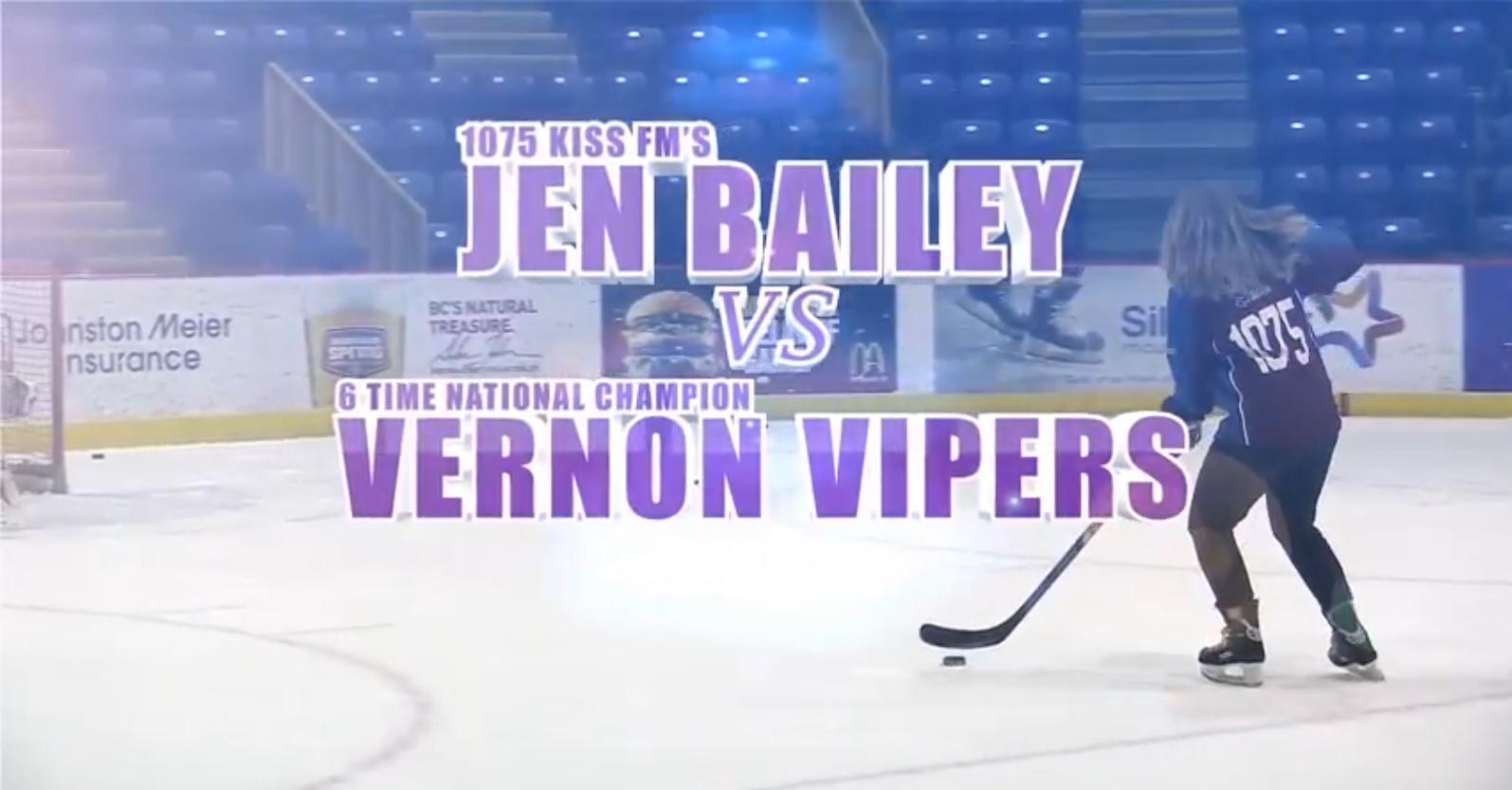 Jen vs. The Vipers