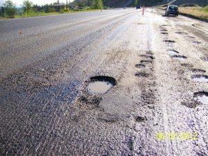 Potholes A Plenty