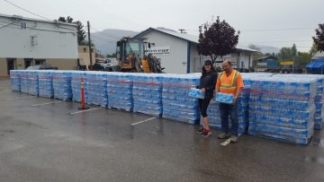 2,000 Cases Of Bottled Water Donated