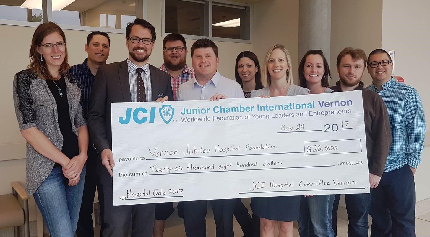 JCI Gala Raises Funds For VJH Cardiac Equipment