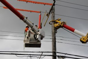 Hydro Crews Work Round The Clock Getting Power Back On