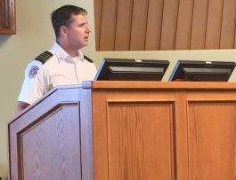 Fire Chief Updates Wildfire Risk Reduction Plan