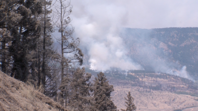 Wind Ramps up Elephant Hill Fire: More Evacuations