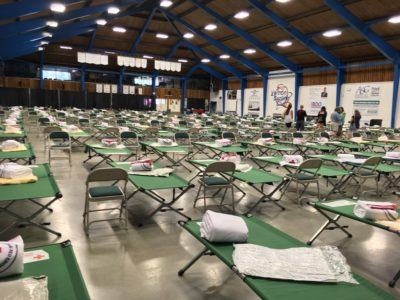 Hundreds of Fire Evacuees Check In