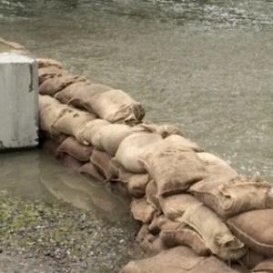 Safe To Remove Sandbags Along Lake