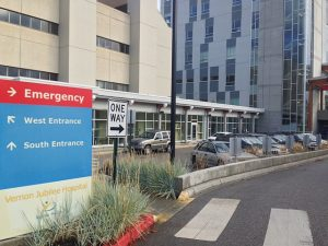 Man In Custody After Hospital Doors Rammed