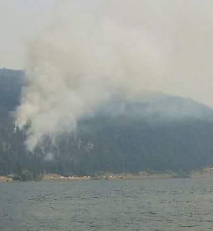Update: New Fire At Monte Lake; Highway Closed