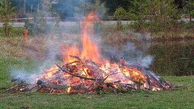 Open Burning Ban Ending