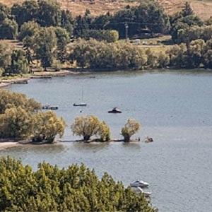 Lake Has Peaked, Flood Risk Remains