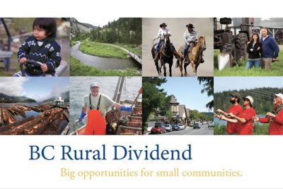 BC Rural Dividend Program Deadline Dec. 15
