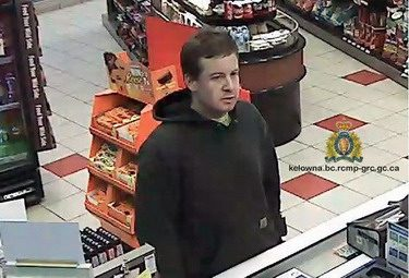Kelowna RCMP Seek Person of Interest