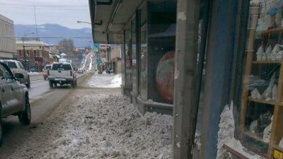 City of Vernon in Full Snow Removal Mode