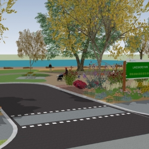 New Lakeshore Park in Works