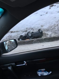 Icy Roads Cause Accidents