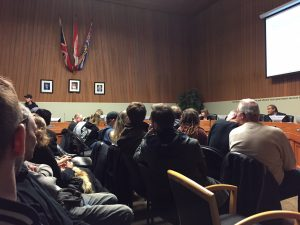 Pot Bylaw Packs City Hearing
