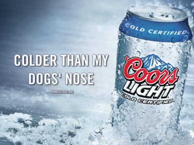 Looters Get Light Fingered With Coors Light