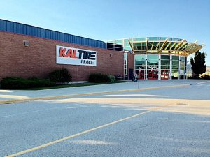Figure Skaters Take Over Kal Tire Place