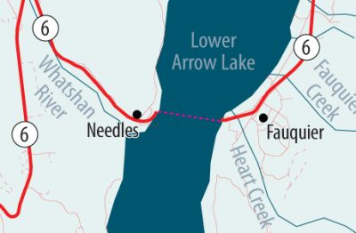 Needles Ferry Down until 12 Noon Sunday