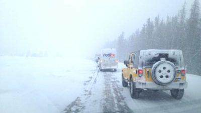Snowfall Warning For Interior