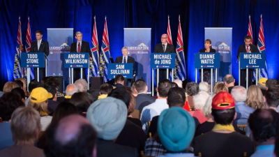 BC Liberals Choose New Leader Today