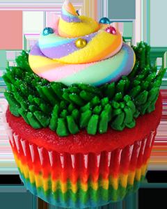 Say hello to the Unicorn Poop cupcake