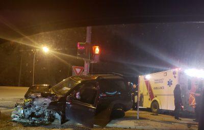 Morning Crash Injures One