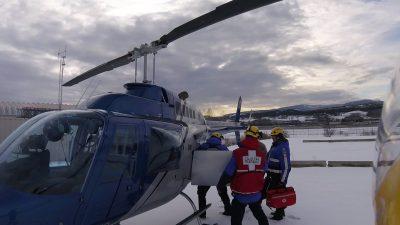 Central Okanagan Search & Rescue Respond to Snowmobile Rider Heart Attack