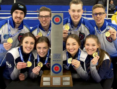 World Junior Curlers Bring Home Gold