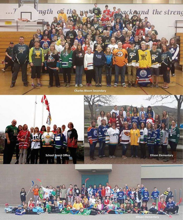 Schools Show Support For Humboldt