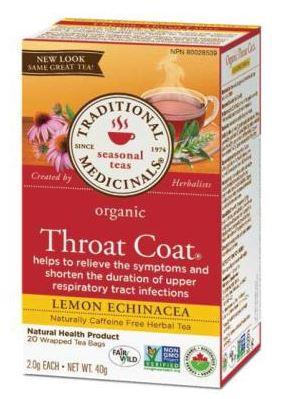 Throat Coat Recall