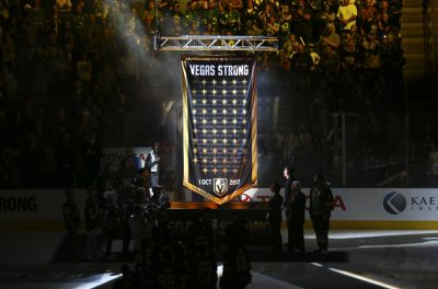 Vegas Golden Knights Honour Shooting Victims