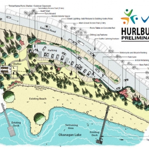 Hurlburt Park Closed For Construction