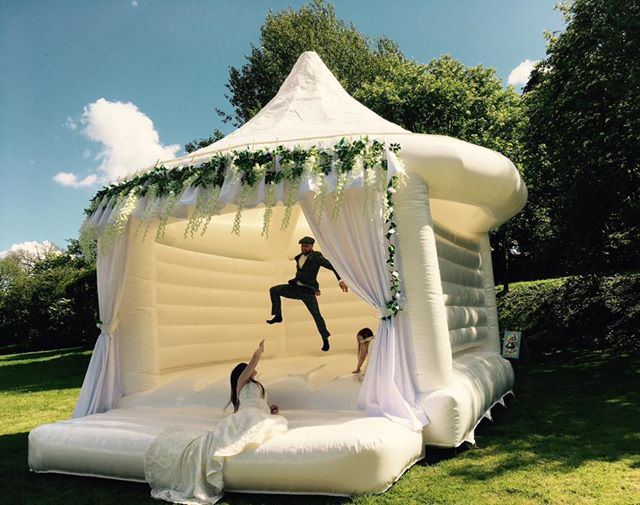 Wedding Bouncy Castles. Yep, this is a thing.