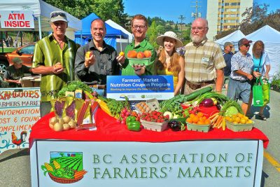 BC Farmer's Market Nutrition Coupon Program Expanded