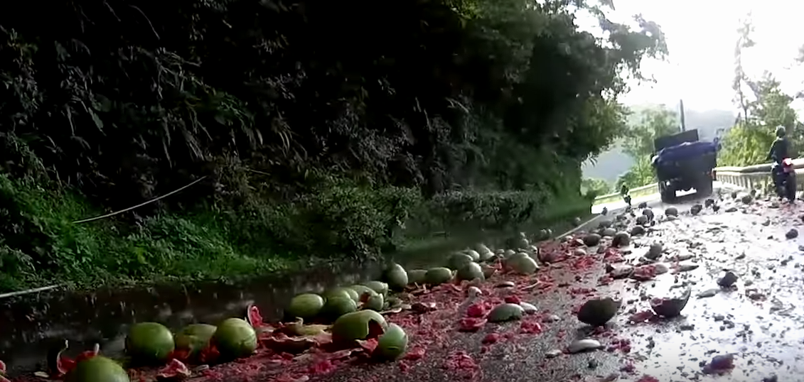 Watermelons On The Road