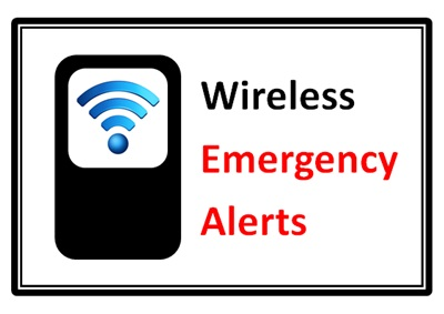 Wireless Alert Test This Afternoon