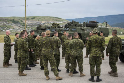 Canadian Military Assisting Kelowna's Flood Preparation