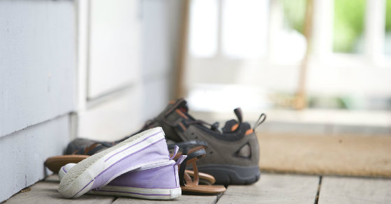 Wanna lose weight?  Try taking off your shoes.  Seriously.