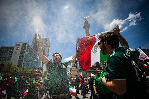 Did World Cup fans in Mexico actually trigger an earthquake?